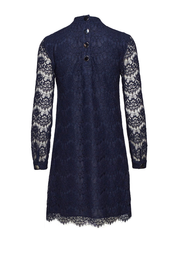Day Birger et Mikkelsen Intimate Woven Dress - Navy