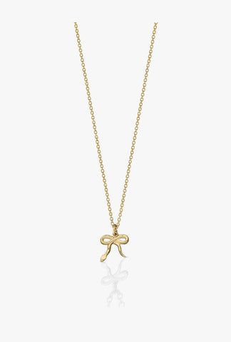 Meadowlark charm necklace - Serpent Bow