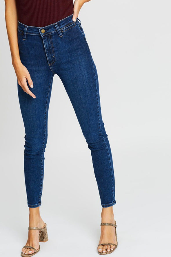 Nobody Denim Cult Skinny Ankle Welt - Bond