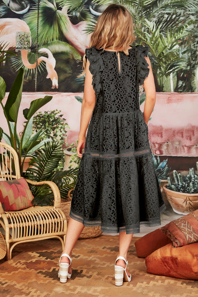 Cooper Go With the Flo Dress - Black