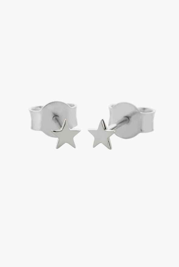 Meadowlark micro stud earrings - Stars