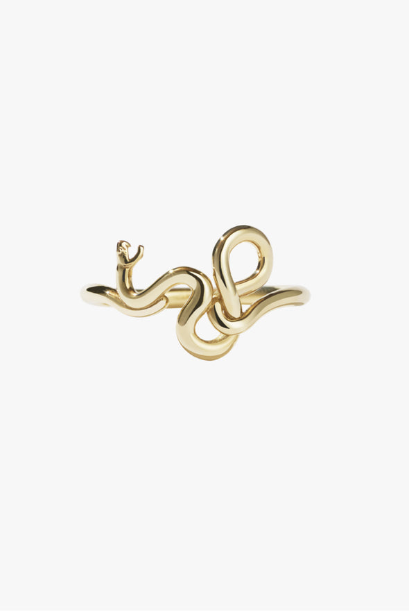Meadowlark Medusa Ring - gold plated