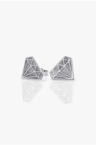 Meadowlark stud earrings - Diamond