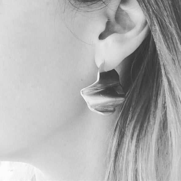Rachel Stichbury Ripple Earrings