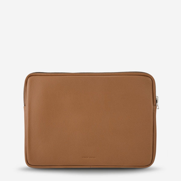 Status Anxiety Laptop Case - Before I Leave - Tan