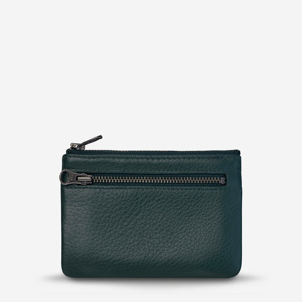 Status Anxiety Anarchy Purse in Teal