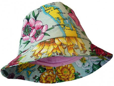 Dishy Floral adult's hat