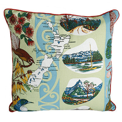 Dishy cushion - fantail