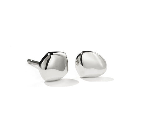 Meadowlark Pebble Stud earrings - Sterling Silver