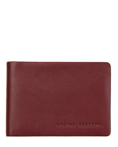 Status Anxiety Men's Jonah wallet in cognac