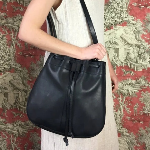 Coterie Bucket Bag - Black