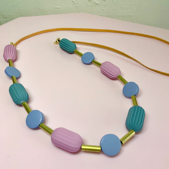 Penny Foggo Pod Necklace - Greys n Blues