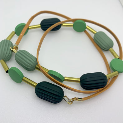 Penny Foggo Pod Necklace - Greenie