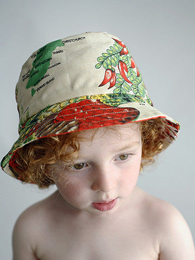 Dishy kea child's hat