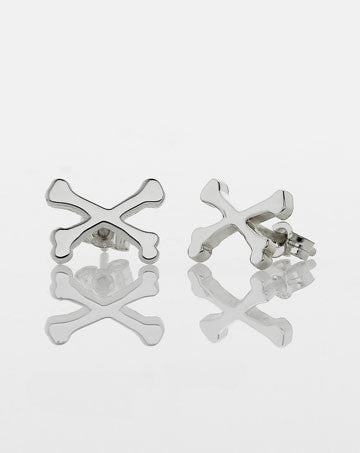Meadowlark crossbone stud earrings