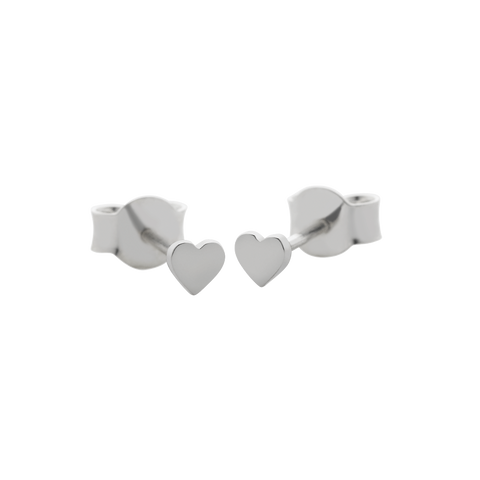 Meadowlark micro stud earrings - Hearts