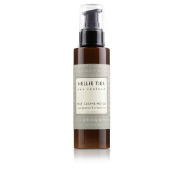 Nellie Tier Face Cleansing Oil - Rose Geranium and Sandalwood