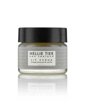 Nellie Tier lip scrub - orange blossom & vanilla