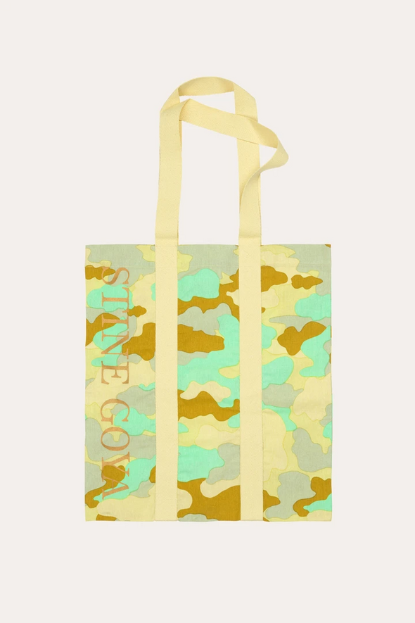 Stine Goya Tote Bag - Camouflage Green