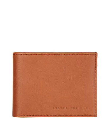 Status Anxiety Men's Noah wallet in camel