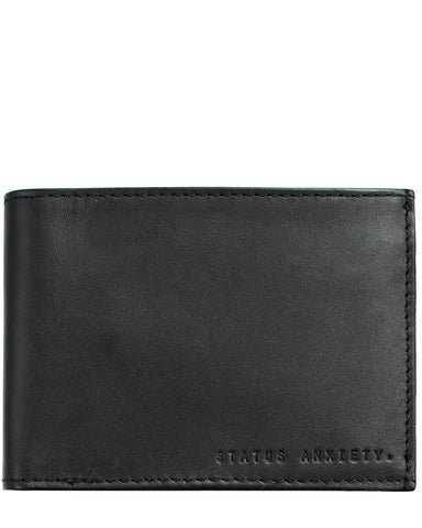 Status Anxiety Men's Noah wallet in black