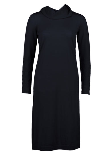 Standard Issue Honeycomb Dress - Navy