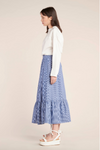 Kloke Effect Skirt - Marine Stripe