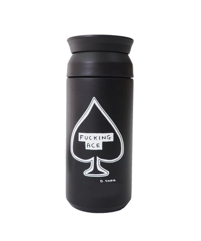 David Shrigley Travel Tumbler - Fucking Ace