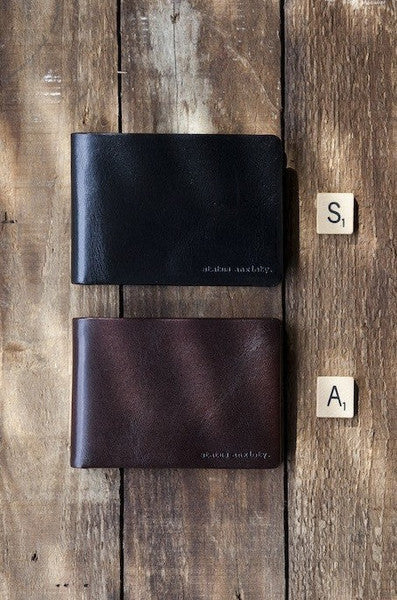 Status Anxiety Men's Jonah wallet collection