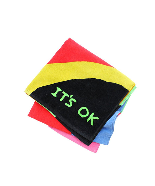 David Shrigley Beach Towel - It's ok
