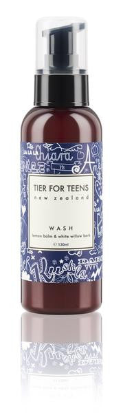 Nellie Tier for Teens Wash - Lemon Balm and White Willow