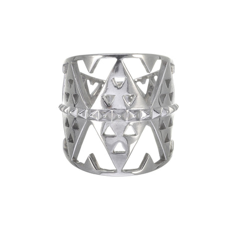 Zoe & Morgan Hokioi Ring in silver