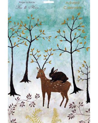 Roger la Borde Advent Calendar - Fox and Hare