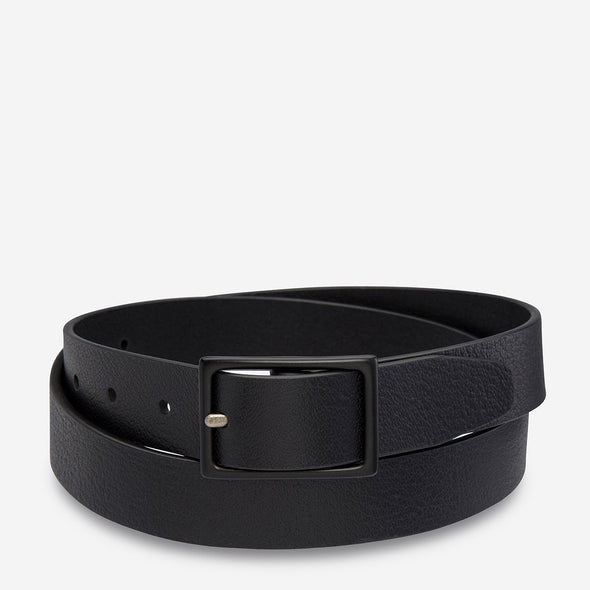 Status Anxiety Belt - Assertion - black