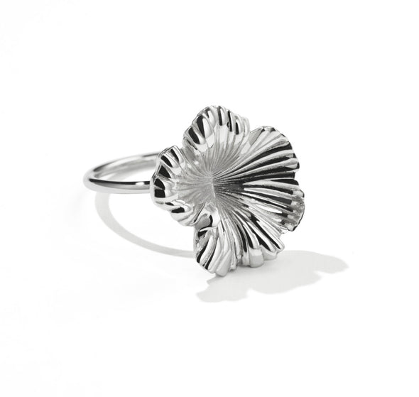 Meadowlark Coral Ring - Sterling Silver