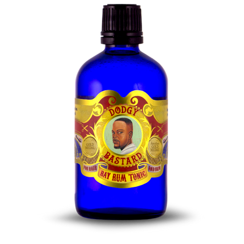 Dodgy Bastard Bay Rum Skin and Hair Tonic 100ml