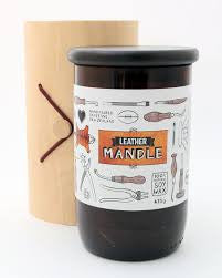 Mandle candle - Leather large