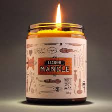 Mandle candle - Leather small