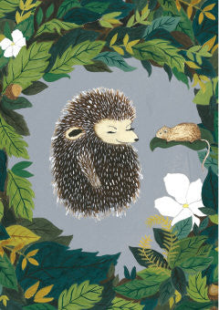 Card -  Roger La Borde Hedgehog