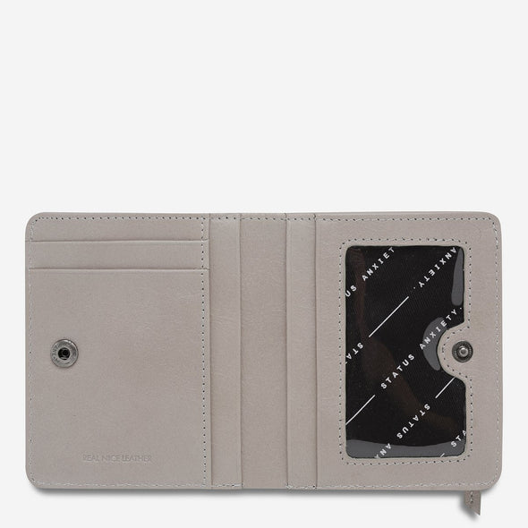Status Anxiety Wallet - In Another Life - Light Grey
