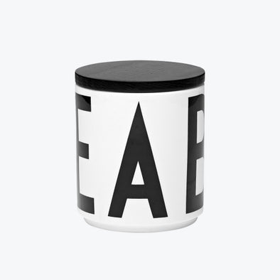Design Letters Multi Jar with Lid - small
