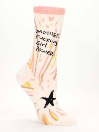 Blue Q - Motherfucking Girl Power Women's socks