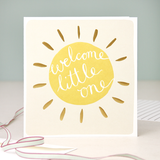 Card -  Caroline Gardner Welcome Little One