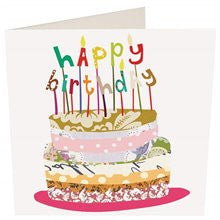 Card -  Caroline Gardner Happy Birthday