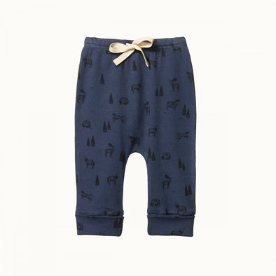 Nature Baby Drawstring Pant - Wilderness Night
