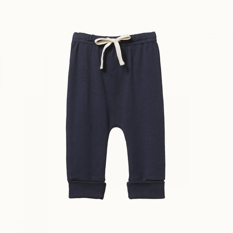 Nature Baby Drawstring Pant - Navy