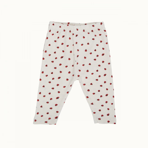 Nature Baby Leggings - Ladybird Print