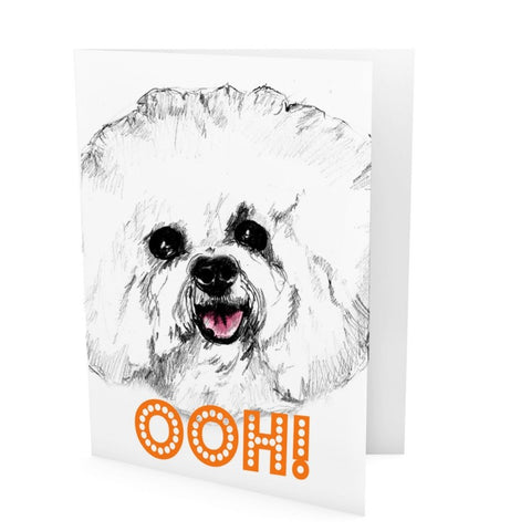 Evie Kemp card - Ooh! Dog