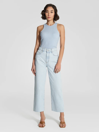 Nobody Denim Lou Jean Crop - Rumour