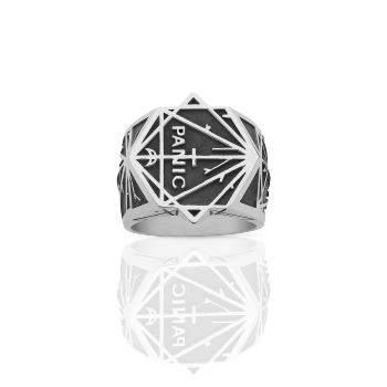 Meadowlark Panic Ring in silver